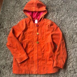 Gymboree Large Orange Jacket Coat NWOT